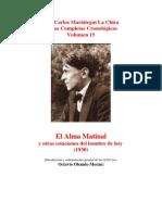 Vol 15 - MARIATEGUI - Obras Completas Cronológicas. 1930. (EL ALMA MATINAL) (AUDIOLIBROS)