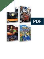Catalogo Juegos Wii