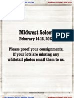Midwest Select 2013 Proof