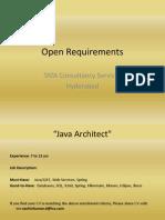 Open Requirements