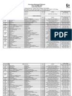 Jadual Pertandingan Liga Super 2013