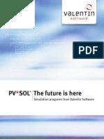 Brochure Pvsol English