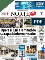 Periodico Norte de Ciudad Juárez 6 de Enero de 2013