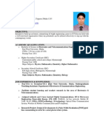 Resume of Zahirul Islam