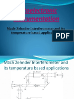 Upload Mach Zehnder Interferometer and Its Temperature Based Applications