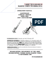 Operator's Manual Lightweight Company Mortar, 60mm, M224