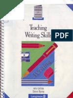 Teaching writing skills