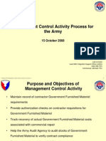 0783 Management Control Activity Process for the Army v1