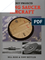 116540270 Secret Projects Flying Saucer Aircraft Bill Rose and Tony Buttler