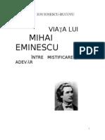 VIAȚA LUI MIHAI EMINESCU ÎNTRE MISTIFICARE ȘI ADEVĂR