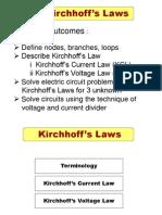 kirchoff law