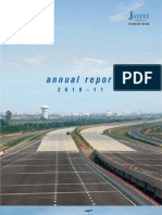 annual report jp infrastructure