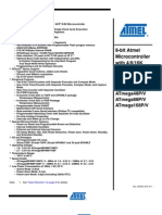 ARDUINO Processor - ATMEL Microntroller Datashet