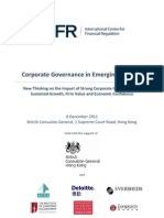 ICFR Series on Corporate Governance in Emerging Ma