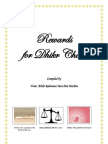 Rewards for Dhikr Chart