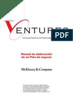 Manual para la elaboracio¦ün de un Plan de negocios, versio¦ün extendida[1]