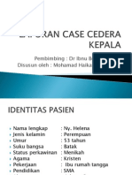 Laporan Case Cedera Kepala