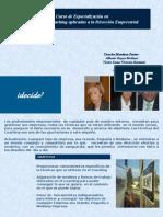 Especialización en Técnicas del Coaching - Planes y Cursos de Formación a Profesionales idecide