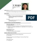 Zet Resume