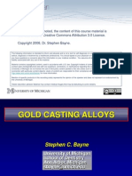 Gold Alloys PPT