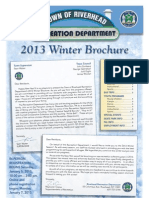 Riverhead Recreation Department Winter 2013 brochure