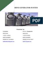 Micro Turbine Generating System