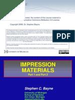 Impression Materials PPT