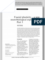 2003 Fascial plasticity - a new neurobiological explanation - Part 1 and Part 2