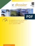 La population des territoires de Champagne-Ardenne