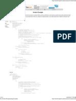 Java Socket Programming Example