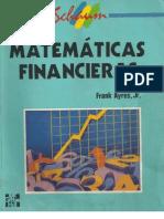 matemáticas financieras actuales