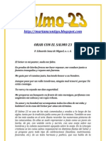 SALMO 23 - ALIANZA DE AMOR
