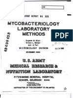 Lab Diagnosis of Mycobacteria