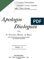 Apologos dialogaes (com uma noticia da vida e escriptos do author por Alexandre Herculano)