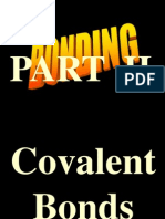 Bonding Part II Covalent