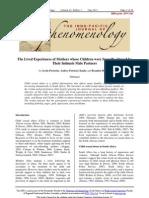 Thematic Analysis 2011
