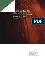 Laços de Familia. Etnias de Brasil