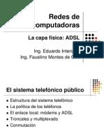 2.2La Capa Fisica ADSL