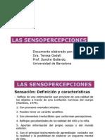 Las Sensopercepciones