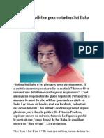 La mort du célèbre gourou indien Sai Baba