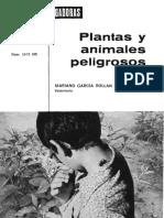 Animales y Plantas Peligrosas
