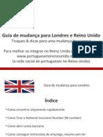Guia de mudança para Londres