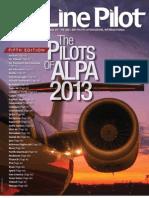 Air Line Pilot January 2013