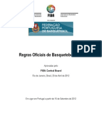 Regras oficiais Basquetebol 2012