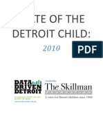 State of the Detroit Child 2010