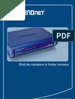 Ghid de instalare TREND NET