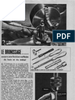 BRUNISSAGE - techniqeu ancienne