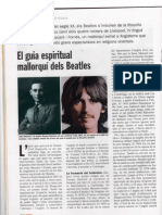 Joan Mascaró i els Beatles