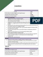 Pupil Premium Grant Expenditure Main Doc 11-12 &12-13