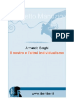 Armando Borghi - Il nostro e l'altrui individualismo (1907)
